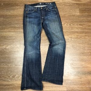 7 For All Man Kind 'A' pkt Flip Flop Jeans Size 26